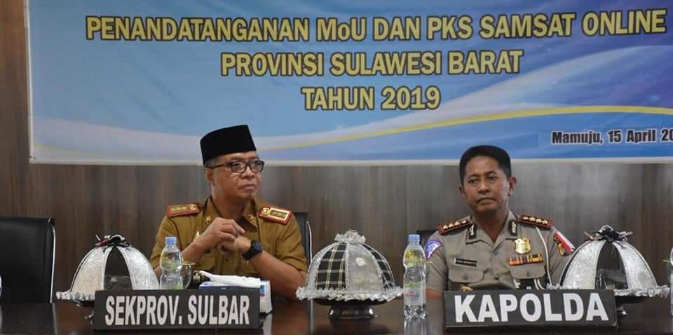 Gambar Samsat Online Diimplementasikan di Sulbar