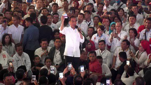 Kubu Jokowi Klaim Bisa Melebihi Jumlah Massa Prabowo di GBK