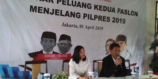 Survei New Indonesia: Prabowo-Sandi 51,8%, Jokowi-Ma'ruf 44,2%