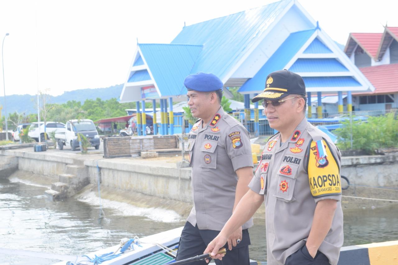 Jelang Mudik, Kapolda Sulbar Cek Dua Pelabuhan Penyeberangan