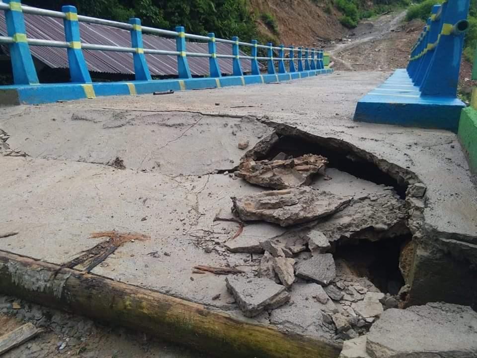 Gambar Warga Desak Pengusutan Jembatan Penghubung Ulumambi, Mamasa