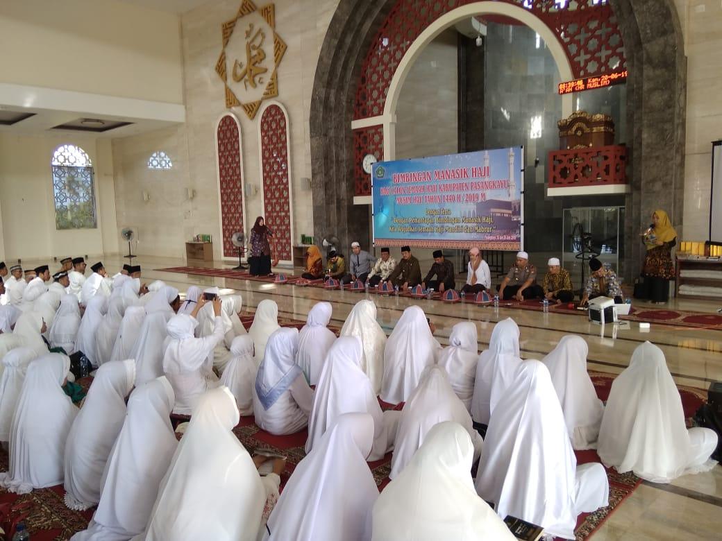 Gambar Polres Matra Beri Pengamanan Manasik Haji