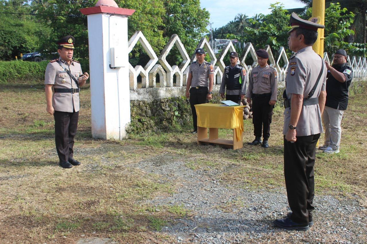 HUT Bhayangkara ke 73, Kapolres Matra Ziarah di TMP Martajaya
