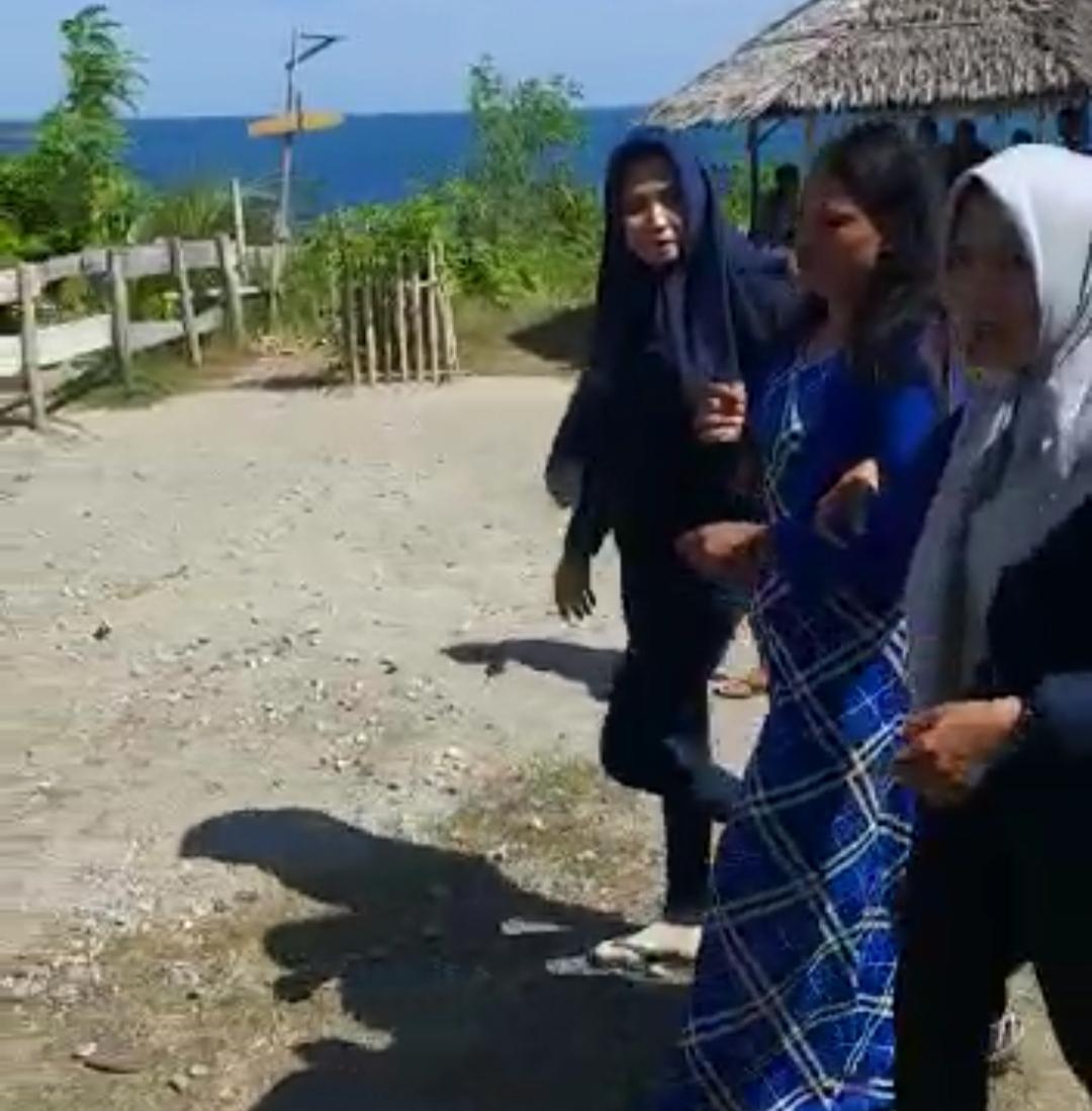 Gambar Seorang Perempuan Coba Bunuh Diri di Obyek Wisata Dato' Berhasil Diselamatkan Polisi