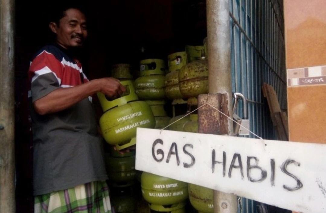 Gambar Langka, Harga LPG 3 Kg di Kalukku Tembus Rp 22.000 per Tabung