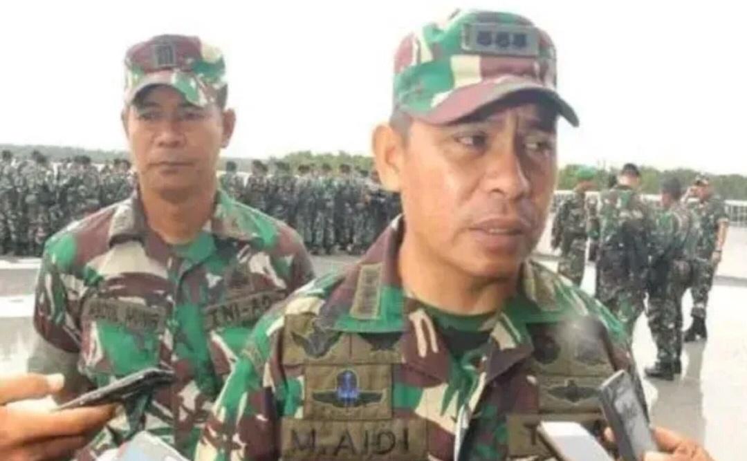 Gambar 1 Prajurit TNI Gugur Ditembaki OPM di Ndunga Papua