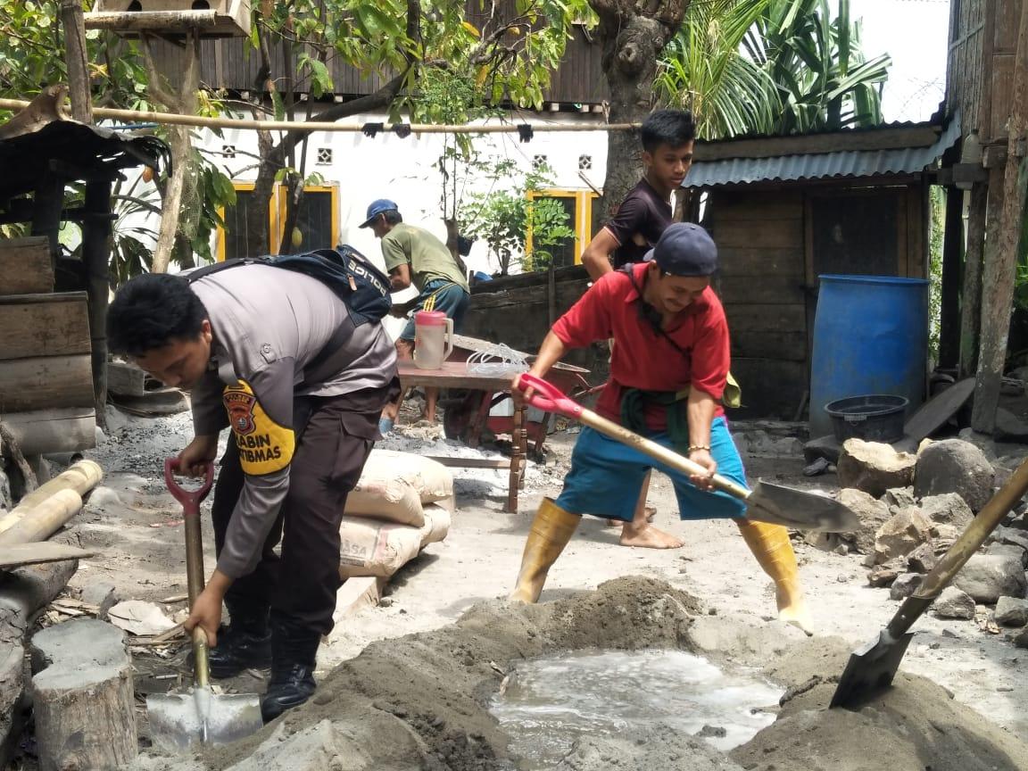 img TNI dan Polri Sinergi Bangun Pondasi Rumah Warga