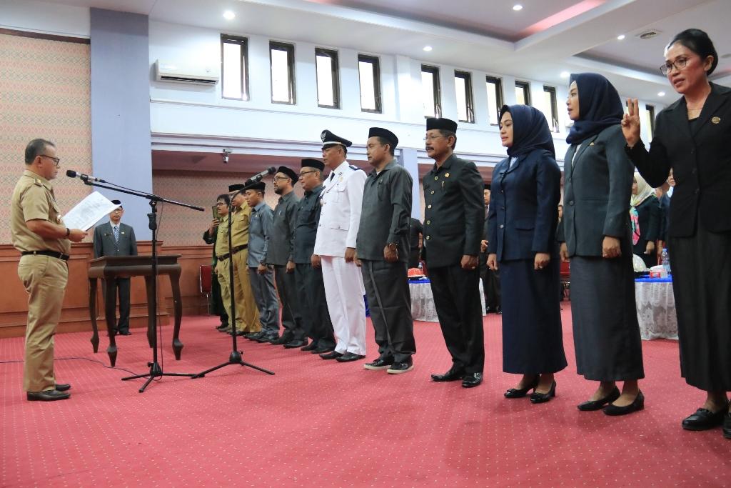 Bupati Habsi Wahid Lantik 12 Pejabat Administrator