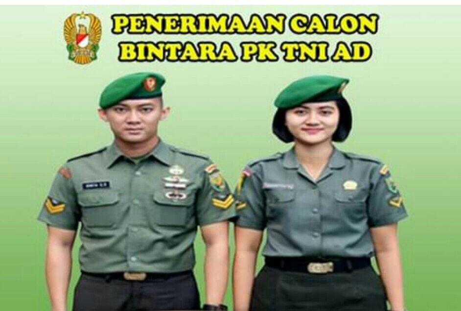 Gambar Penerimaan Sekolah Bintara Prajurit Karir TNI Diperpanjang, Ini Jadwalnya