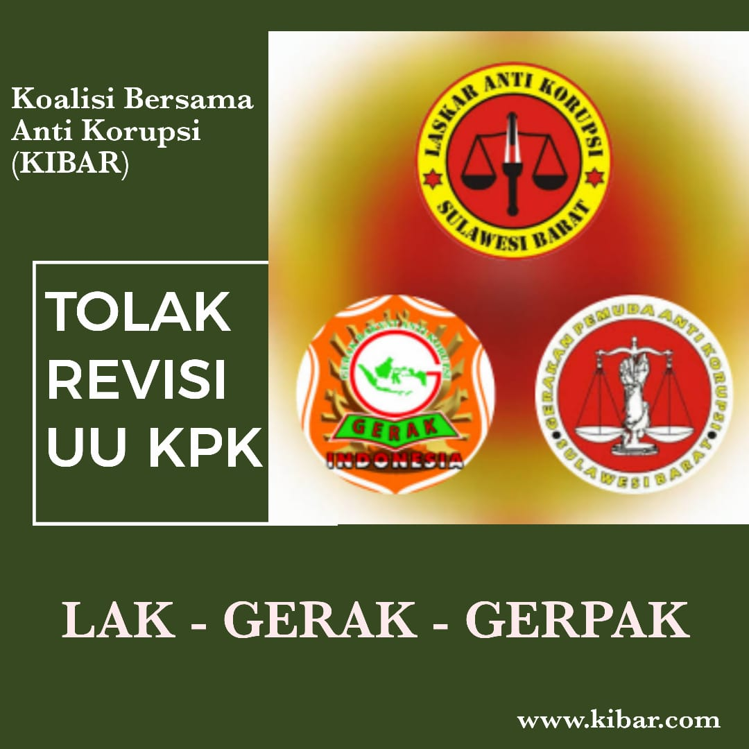 img 3 Lembaga Anti Korupsi di Sulbar Tolak Revisi UU KPK