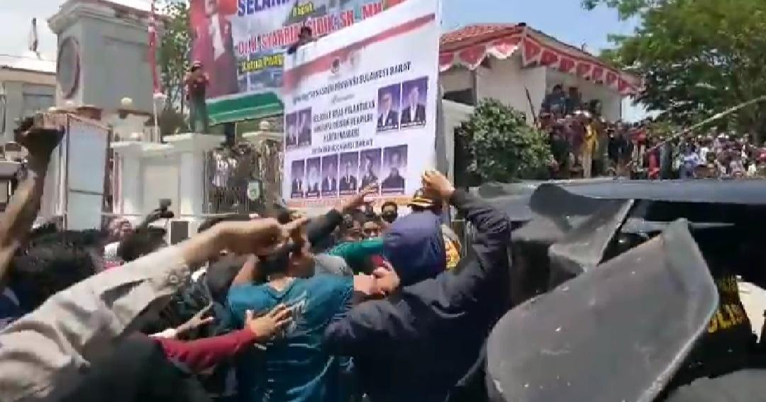 Gambar Berikut Identitas Korban Demo Tolak UU KPK di Mamuju