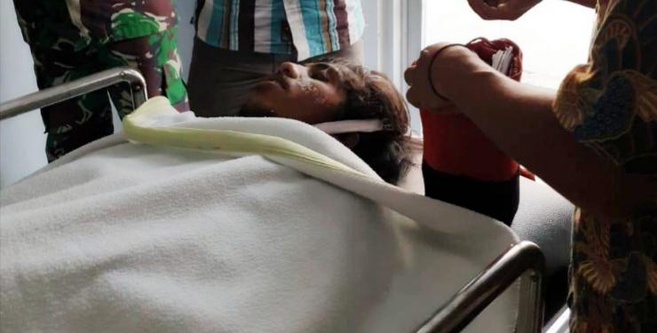 Gambar Seorang Mahasiswa Kendari Tewas Terkena Tembak di Dada