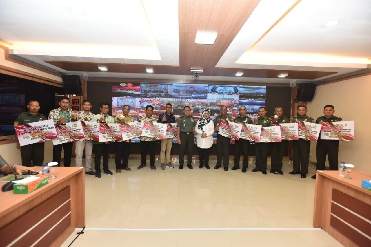 img Pendam V/Brawijaya Juara 3, Lomba Karya Jurnalistik TMMD ke-15