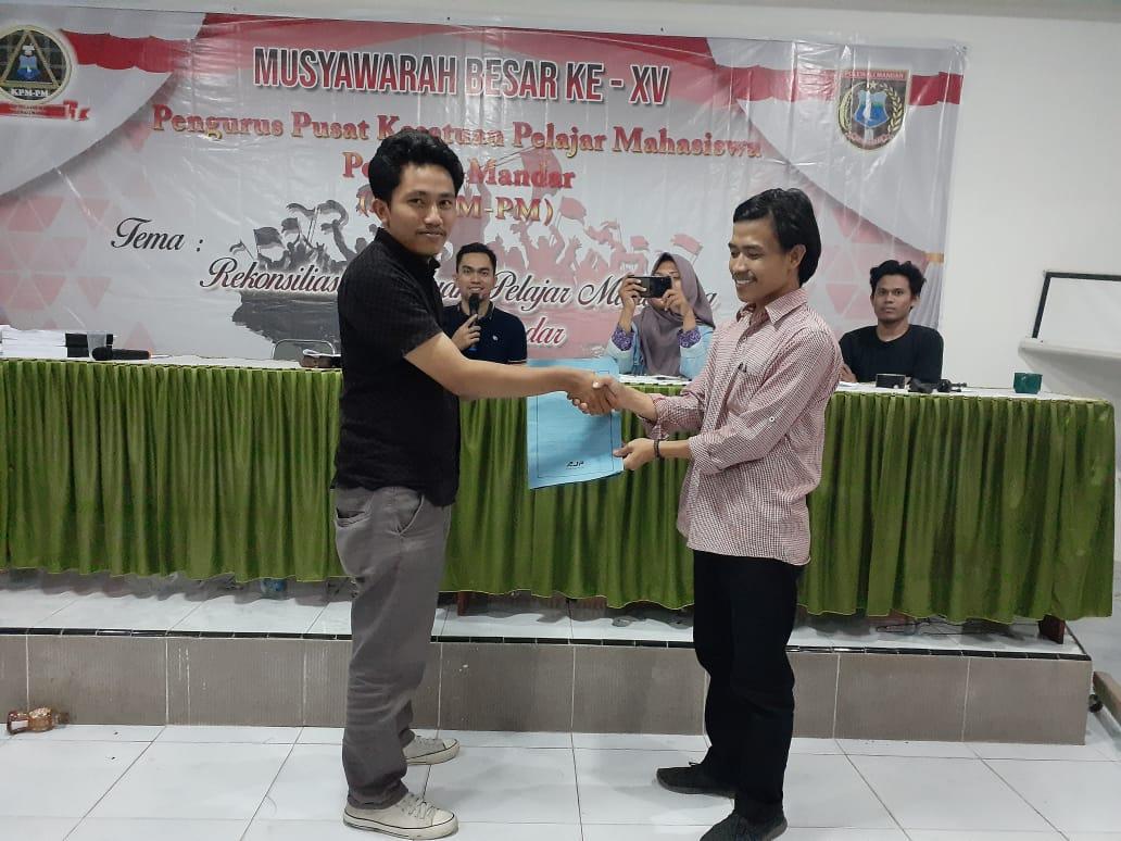 Gambar Muh. Iksan Terpilih Ketua KPM-PM Periode 2019-2021