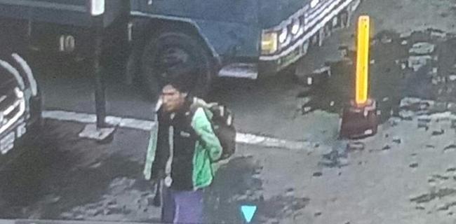 Gambar Pelaku Bom Bunuh Diri Pakai Jaket Ojol dan Bawa Ransel