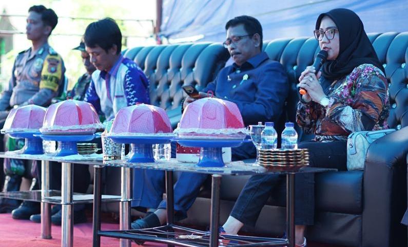 Reses di Sampaga, Suraidah dan Syamsuddin Hatta Terima Aspirasi Masyarakat
