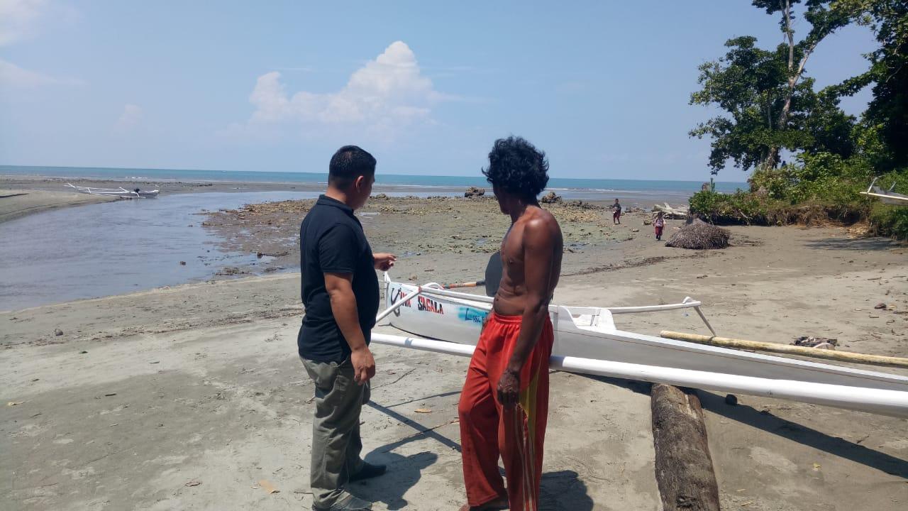 Gambar Nelayan Hilang di Perairan Pasangkayu