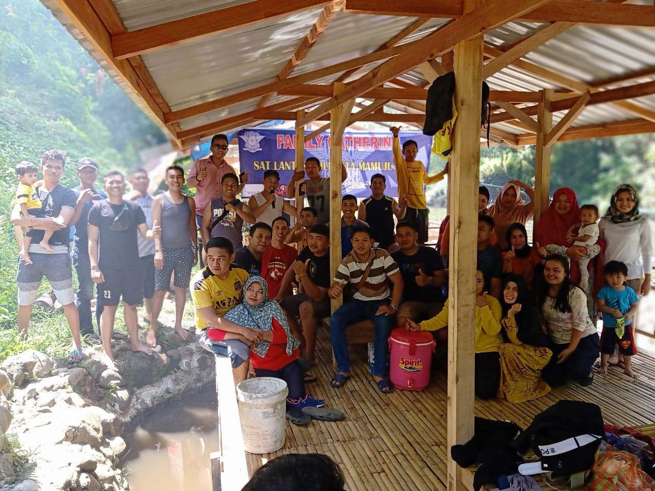 Gambar Pererat Tali Silaturahmi, Sat Lantas Polresta Mamuju Gelar Family Gathering