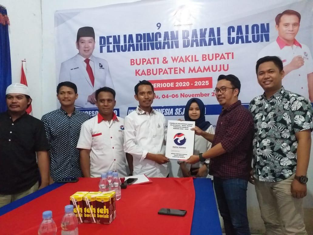 Perindo Partai Kelima Sutinah Dalam Bursa Penjaringan Calon Bupati