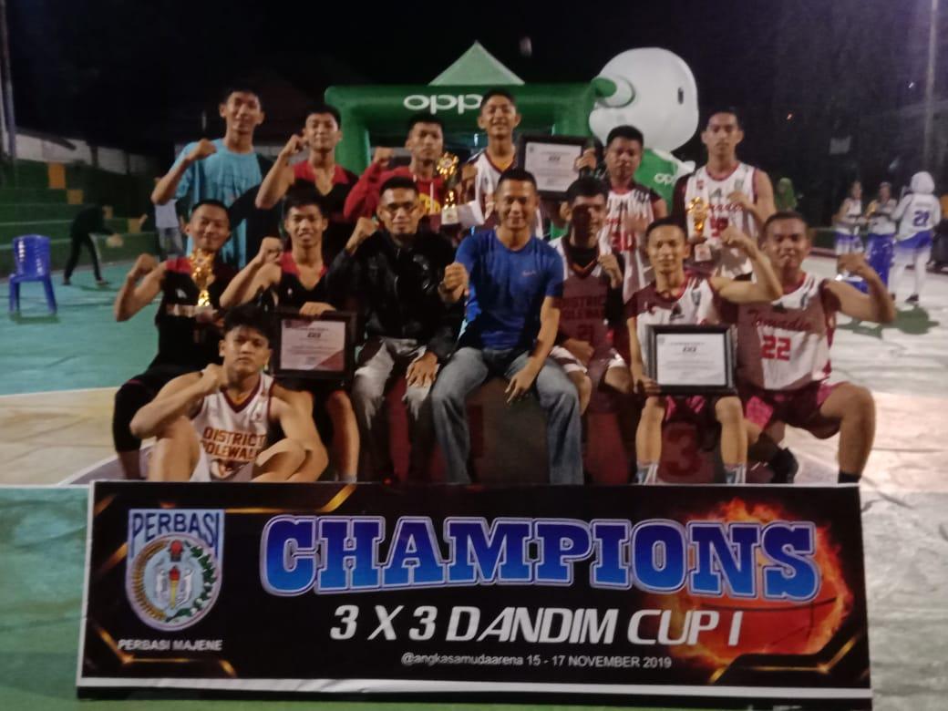 img Kemarin, Puluhan Club Basket Pelajar Berebut Piala Dandim Cup