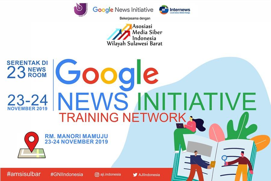 Gambar AMSI Sulbar dan Google Gelar Pelatihan Cek Fakta