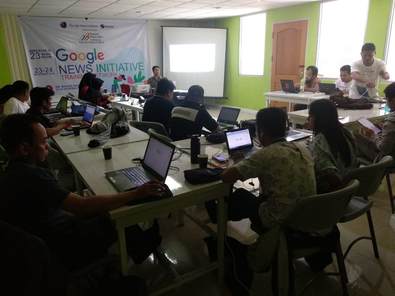 Gambar AMSI Sulawesi Barat Gelar Pelatihan Cek Fakta untuk Jurnalis