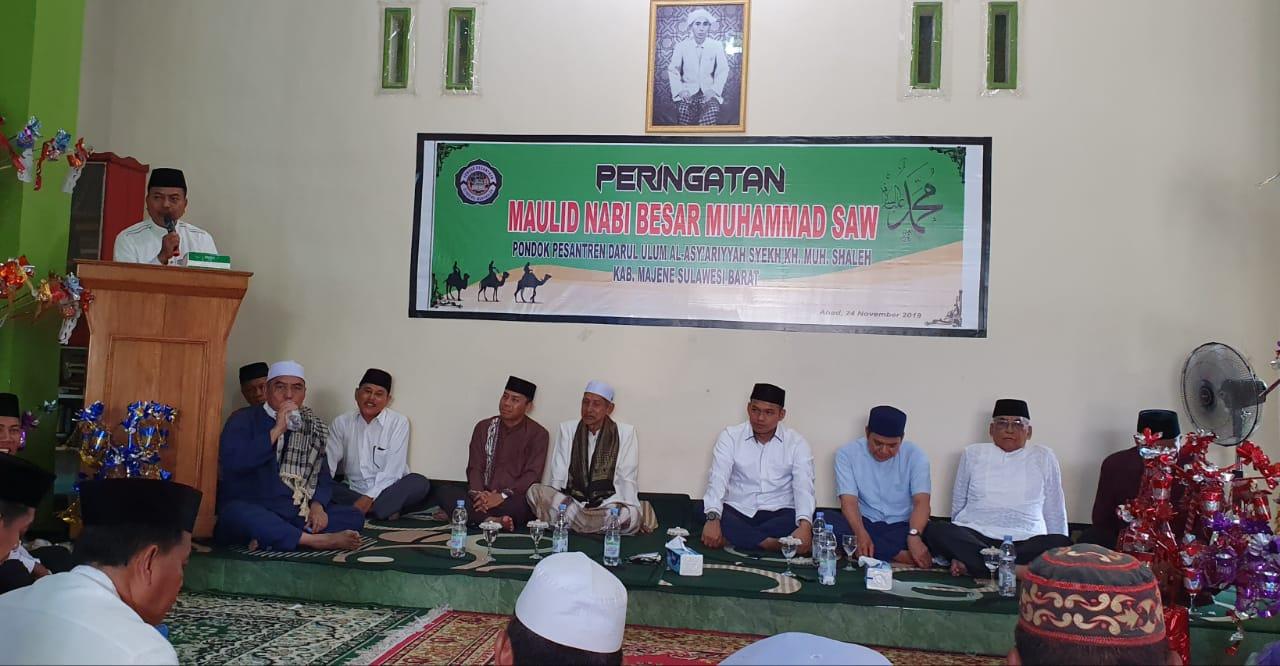 Gambar Ini Pesan Fahmi Massiara saat Menghadiri Maulid di Pesantren Darul Ulum Al-Asy'ariyyah Syekh KH Muh Saleh