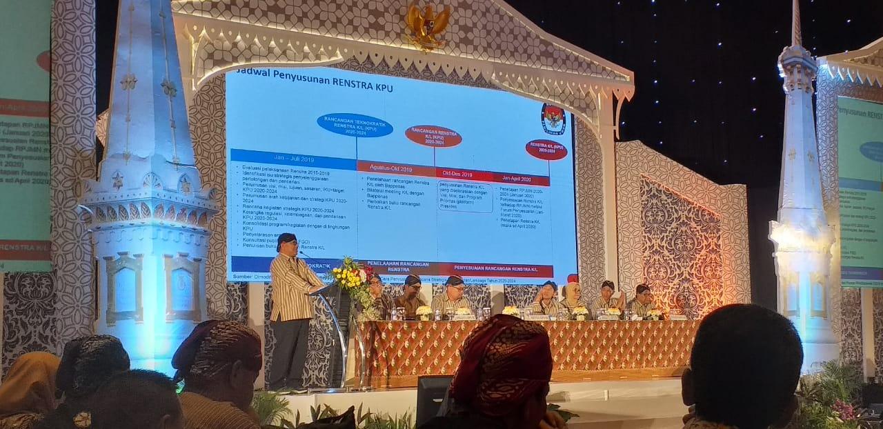 Gambar KPU Rumuskan Rencana Strategis Lima Tahun
