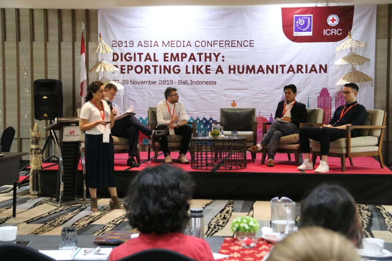 Gambar Bangun Empati Jurnalis, ICRC dan AJI Selenggarakan Asia Media Conference 2019