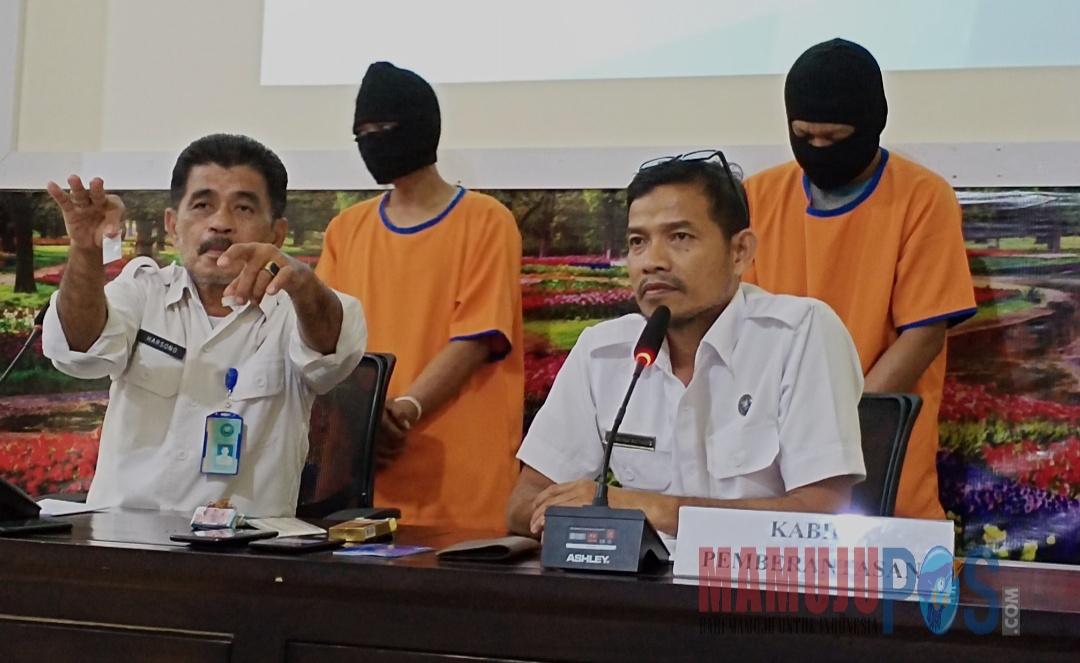 Gambar BNN Gagalkan Peredaran Sabu, Salah Satu Pelaku Oknum PNS Sulbar