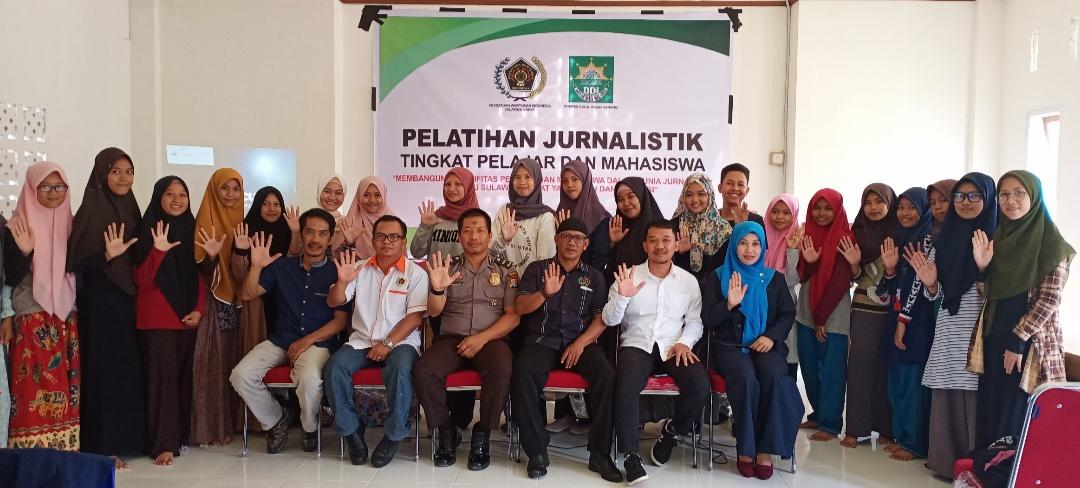 img PWI Sulbar Gelar Pelatihan Jurnalistik Tingkat Pelajar dan Mahasiswa