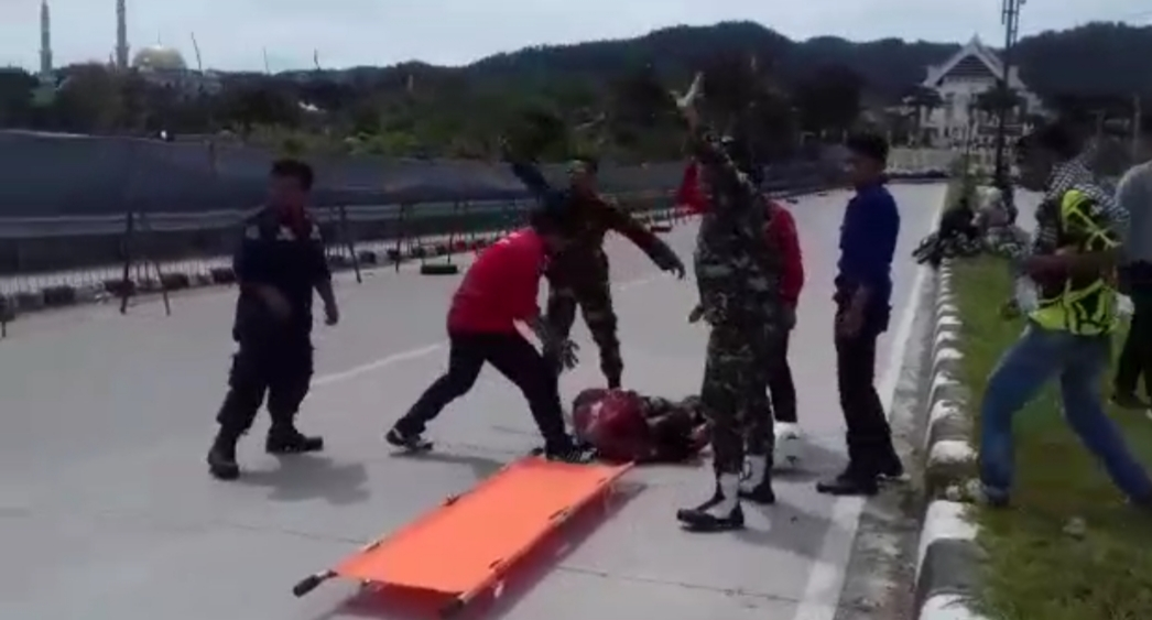 Gambar Resky Thaha : Pure Race Accident
