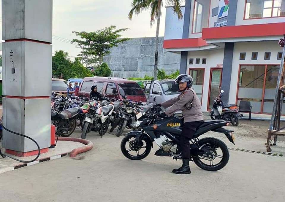 Gambar Patroli Kapolres Majene ke SPBU Mendapat Tanggapan Beragam dari Netizen