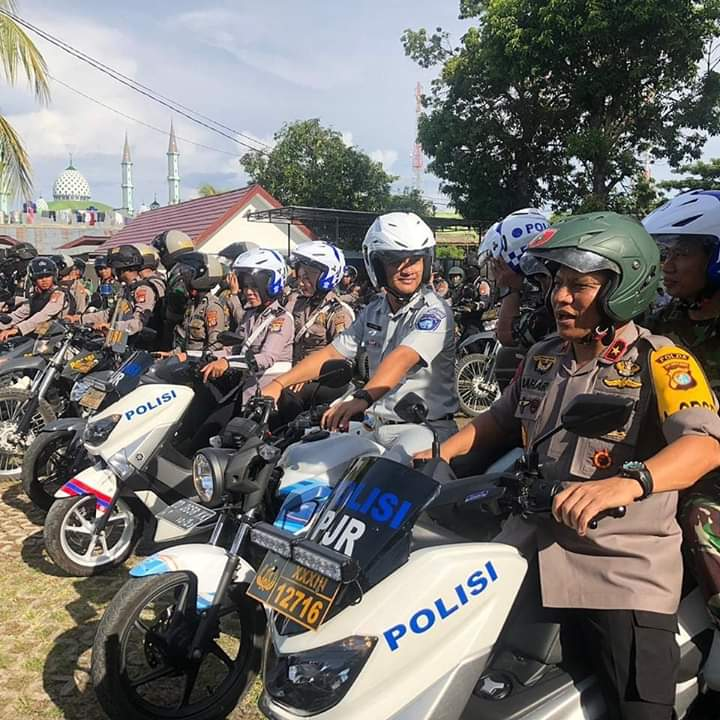 Gambar Pastikan Situasi Nataru Kondusif, TNI – Polri Gelar Patroli Bersama