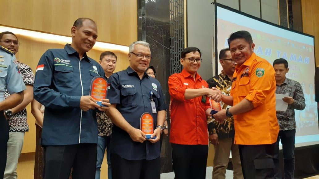 Gambar Manggala Agni KLHK Mendapatkan Apresiasi dari Gubernur Sumatera Selatan