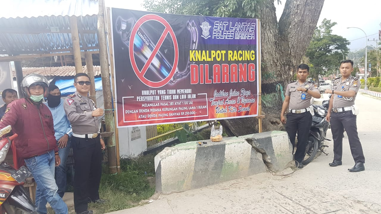 Gambar Knalpot Racing Dilarang di Mamasa