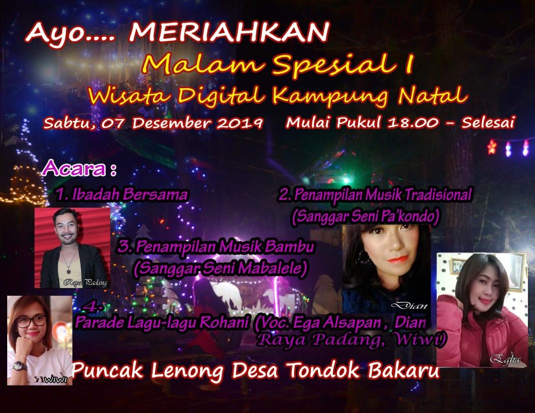 img Live Musik Akan Meriahkan Kampung Natal di Mamasa