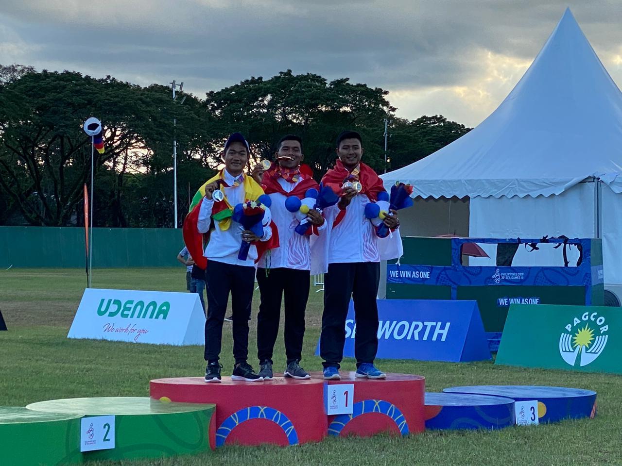 Gambar Panahan Indonesia Sudah Sumbang 5 Medali di Nomor Recurve Sea Games 2019