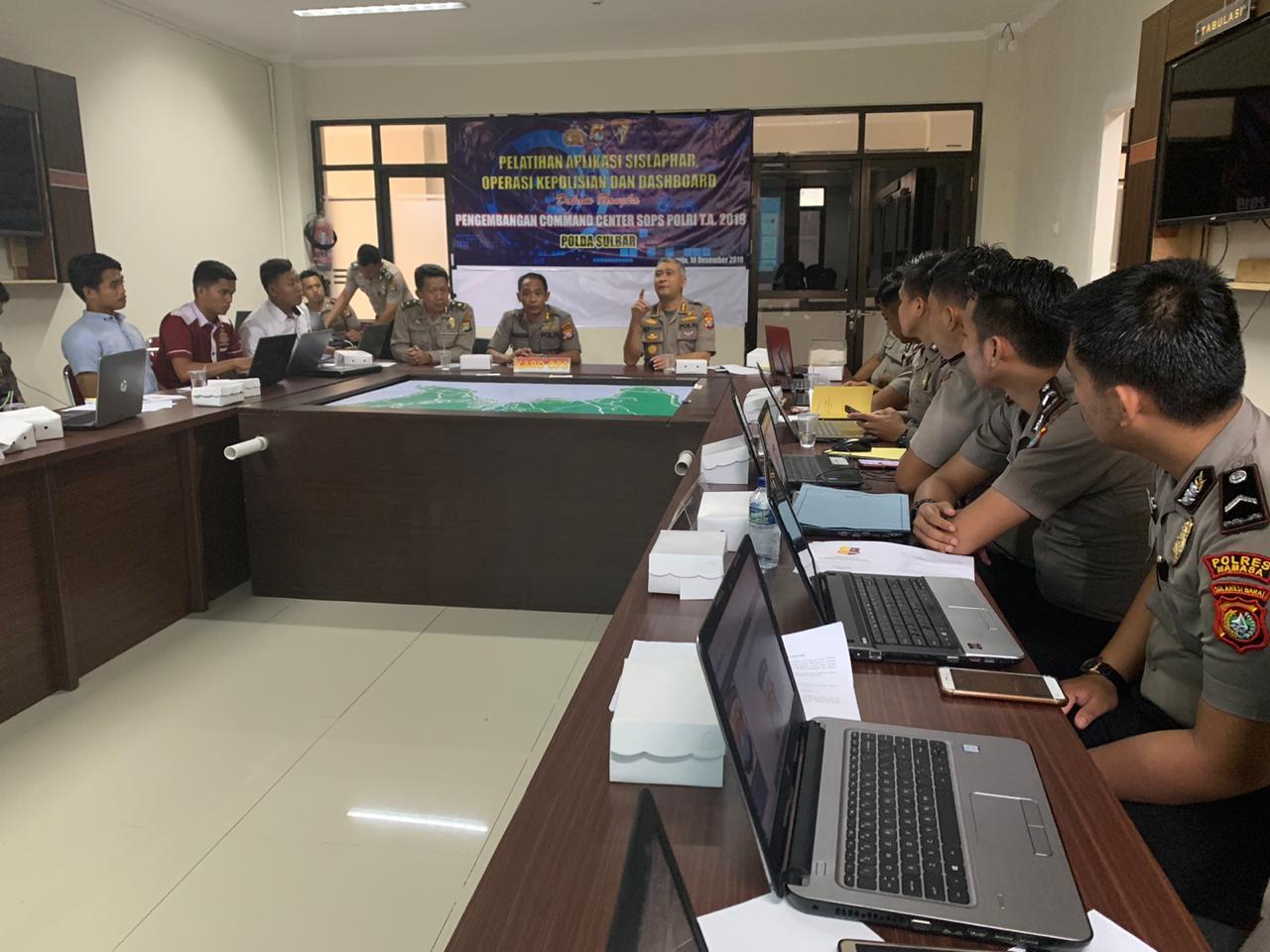 Gambar Kembangkan Command Center SOP Polri, Polda Gelar Pelatihan