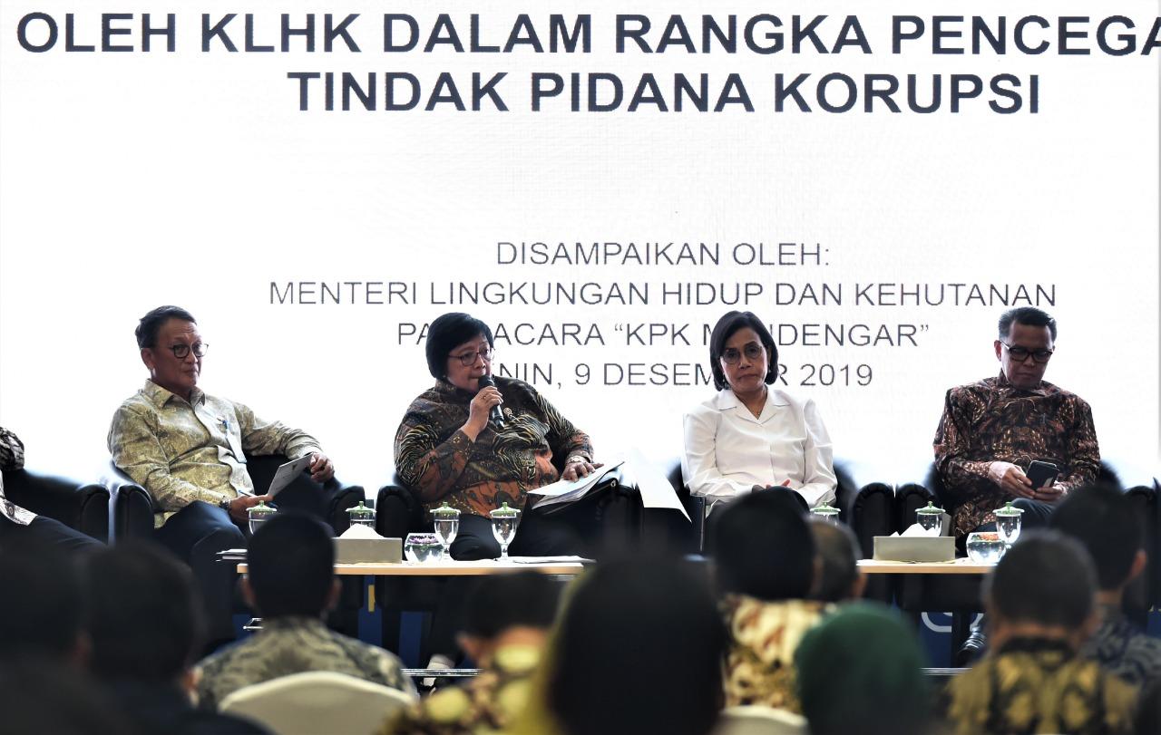 Menteri LHK Tegaskan Komitmennya dalam Pencegahan Korupsi