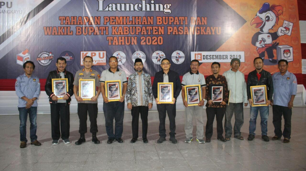 img KPU Pasangkayu Launching Tahapan Pilkada