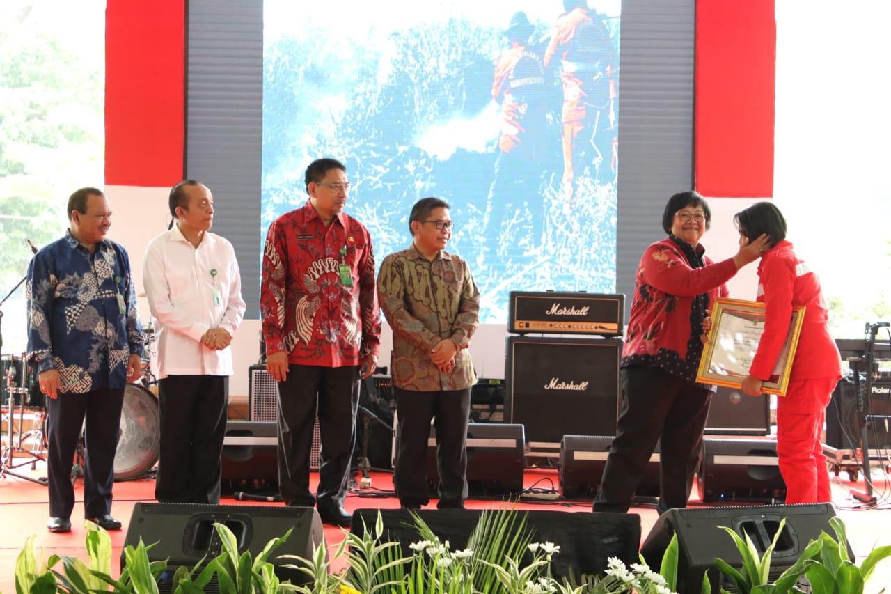 Menteri LHK: Manggala Agni Sebagai Patriot Indonesia