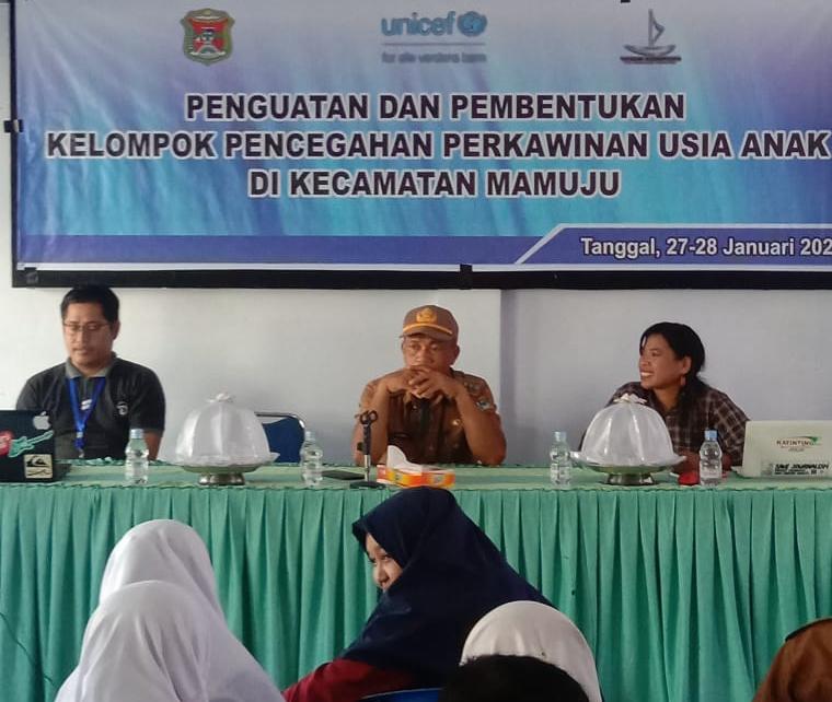 img Unicef dan Yayasan Karampuang Bentuk Pokja Cegah Pernikahan Usia Dini