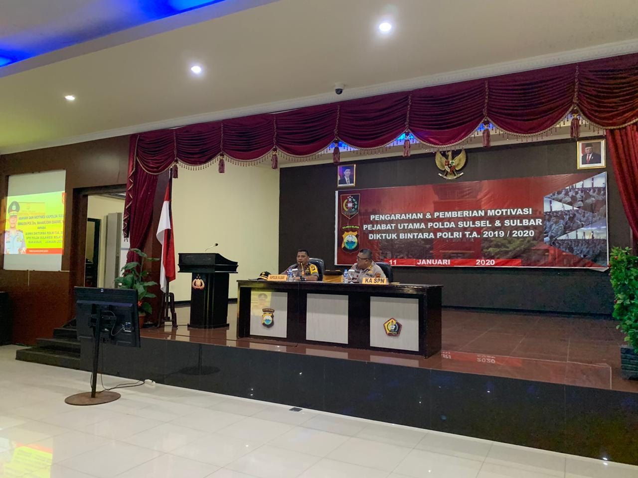 Gambar Ini Pesan Moral Kapolda Sulbar di SPN Batua Makassar