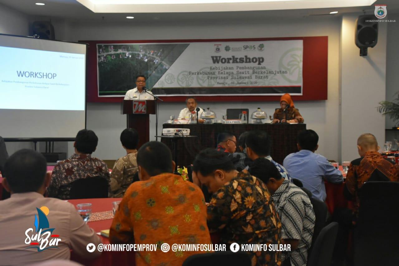 Gambar Melalui Workshop, Idris Harapkan Validasi Data Perkebunan Kelapa Sawit