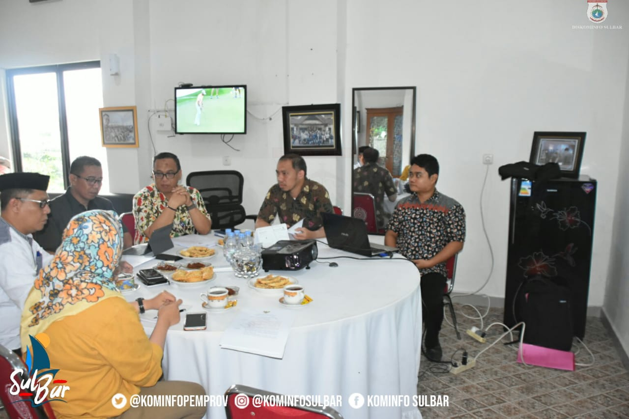Gambar Dinas Kominfo Sulbar Genjot Pembentukan Forum SDI