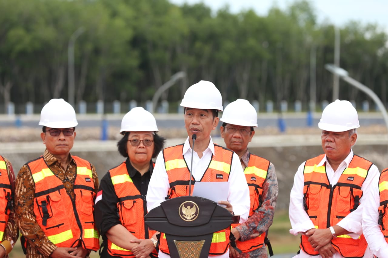img Resmikan TPA Regional Banjarbakula, Presiden Ingatkan Pentingnya Pengelolaan Sampah