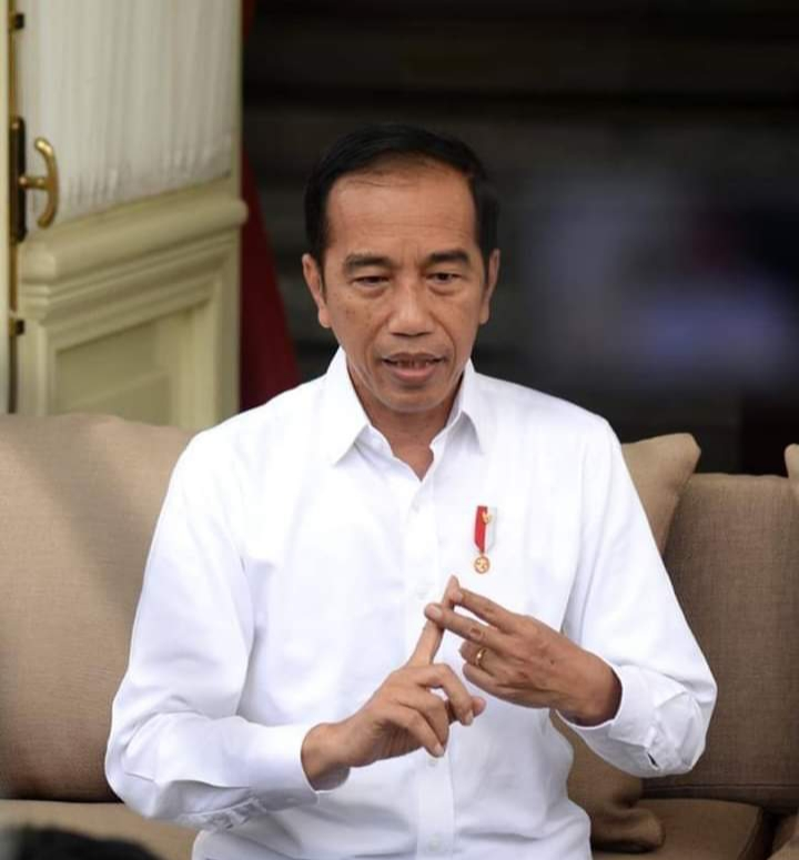 Gambar Hindari Virus Corona, Jokowi Minta agar Jaga Tubuh Tetap Fit