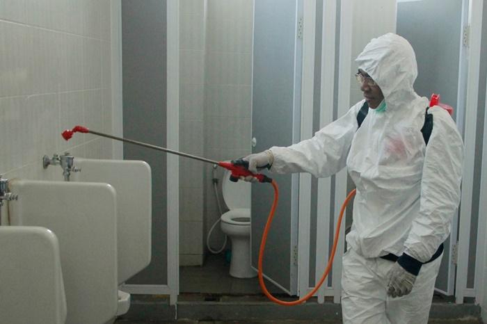 Gambar Besok, Tiga Lokasi Fasilitas Umum di Majene Akan Disemprot Disinfektan