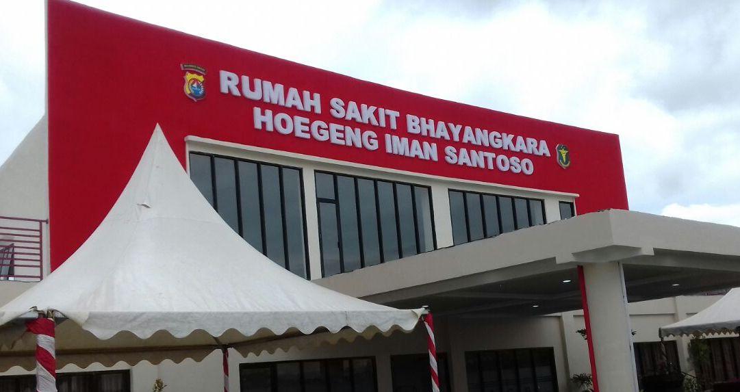 Gambar Rumah Sakit Bhayangkara Sulbar Butuh APD